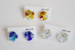 glass lab 「ガラスピアス・イヤリング」