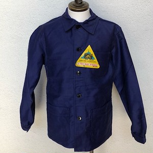 1950s Dead Stock French Work Jacket Le Mont St.Michel