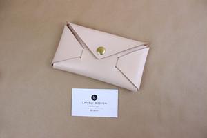 JAPAN LANSUI DESIGN 名入れ対応 ヌメ革手作り小物入れ 品番JD5263S4333