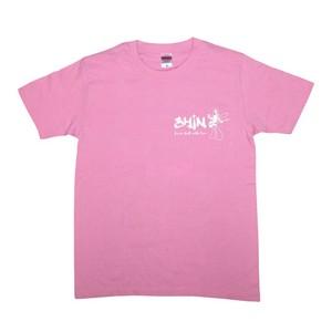 小林信一キャラクター Tシャツピンク
