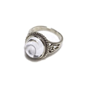 Jewelry ring white