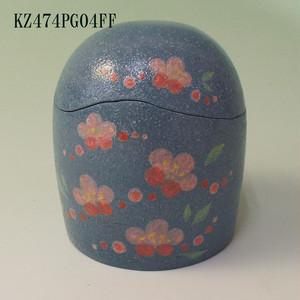 陶器製ミニ骨壺 あんのん(KZ474PG04FF) 梅