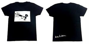 君と僕 オリジナルTシャツ 黒