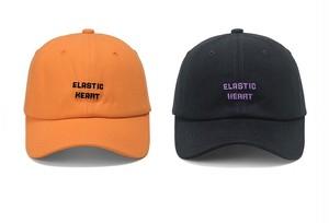 ElasticHeartボールキャップ(Black,Orange)  3500