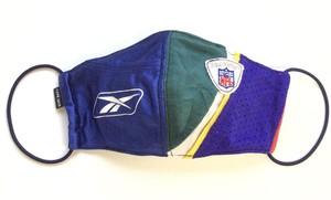 【デザイナーズマスク 吸水速乾COOLMAX使用 日本製】NFL CRAZY PATTERN SPORTS MASK CTMR 1116008