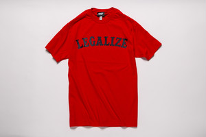 LEGALIZE TEE (RED)