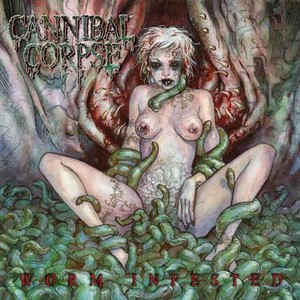 【USED】Cannibal Corpse / Worm Infested