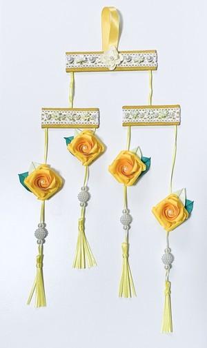 バラ折りアレンジ<壁飾り>