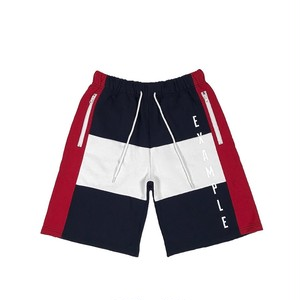 EXAMPLE x KANGOL SWEAT SHORT PANTS / NAVYxREDxWHITE