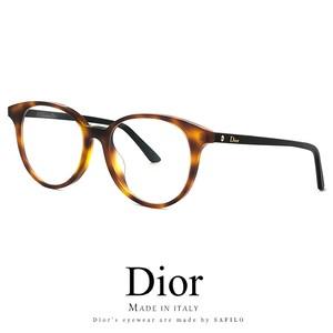 Dior メガネ montaigne47f-581 眼鏡 ディオール Christian Dior モンテーニュ ボストン ラウンド 丸眼鏡