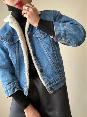 Vintage Levi's Denim Boa Jacket