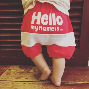 ready mades hello! bloomers