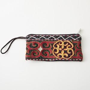 アミヤン カザフ刺繍の財布