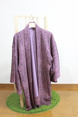 羽織 Haori 紫竹柄