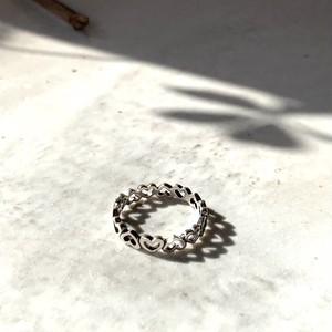 Lots of love Ring_Silver925|ミニハートシルバーリング|#sp111|【STELLAPARK】