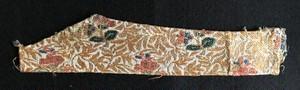 ペルシャ・カジャール朝初頭の絹モール錦裂<1269a>