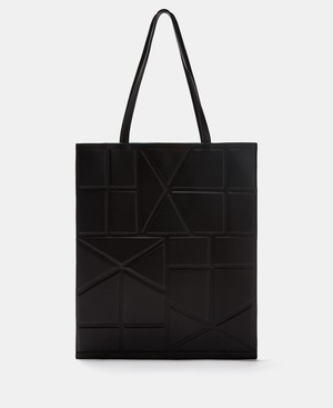 TOTE BAG WITH GEOMETRIC LINES [21201116610111]