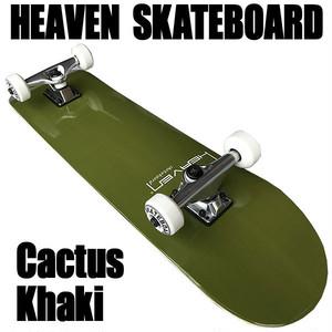 ヘブン ハイスペック コンプリート スケートボード カーキ 31×7.625 選び抜かれた高品質のスケボー