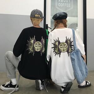 【トップス】ストリート系シンプルプリントTシャツ25992460