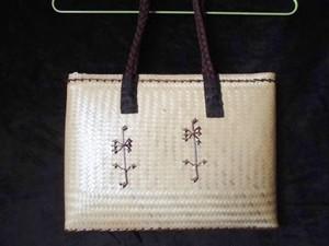 フィリピン製・カゴバッグ(大)