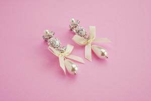 Blanc pur ( Pierce / Earrings )