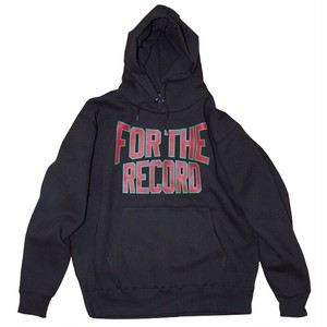 "【Online分入荷】""For The Record"" Hoodie 1st Anniv Edition"