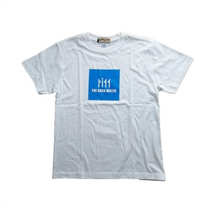 THE BACK WATER LOGO T-SHIRTS WHITE BW-712