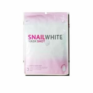 かたつむり ホワイト マスク パック/ SNAIL WHITE MASK SHOT 1パック/5枚