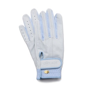 Elegant Golf Glove white-celeste