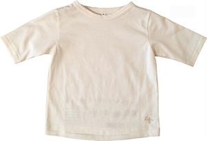 ORGANICコットン100% BOATNECK Tシャツ/KIDS