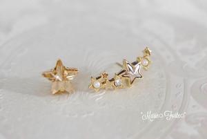 TWINKLE STARS【14kgfピアス】