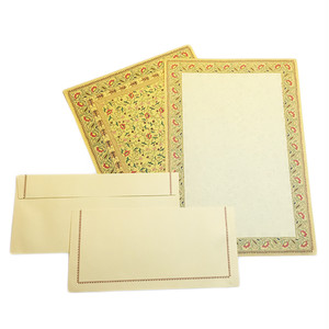 10 Letter Papers + 10 Envelopes
