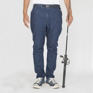 "モノマガジン掲載""The Fishing Together""  STRETCH DENIM EASY PANTS  BW-301VM"