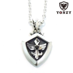 YONZY Phoenix Necklace  SV  ブラックスピネル