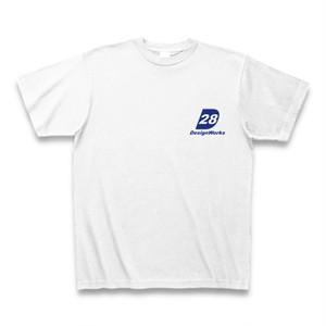 Tシャツ-28ストアロゴ(白)