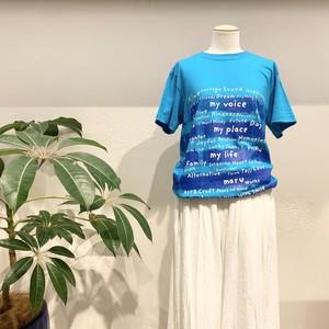 アートTシャツ 【maru no border T】