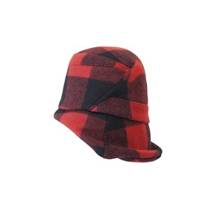 GRAPHIC PLAID/buffalo red