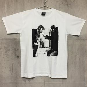 【送料無料 / ロック バンド Tシャツ】 THE BEATLES / John and Ringo Men's T-shirts M ザ・ビートルズ / ジョン・アンド・リンゴ メンズ Tシャツ M