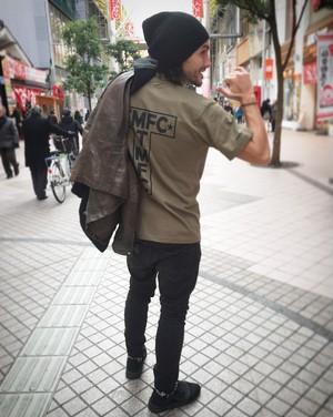 TMFC T-back  Tシャツ カーキ