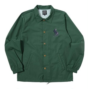 WE'RE NOT OUT OF THE WOOD COACHES JACKET (GREEN) [TH-17AW-081]