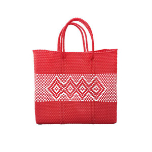 MERCADO BAG DIAMOND LINE-Red (S)