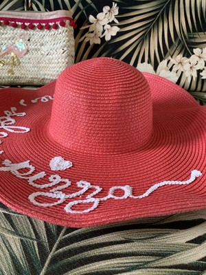Mare Sole Pizza HAT Floppy Pink