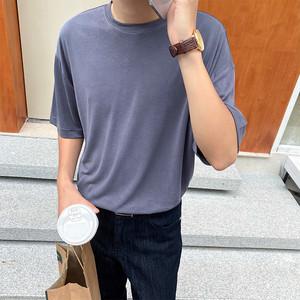 ベーシッククルーネックTシャツ BL5850