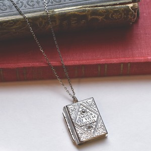 package collection Book pendant