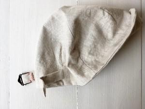 """hand-sewn&one-washd"" LOKACAP|LINEN GRAYBEIGE【M】"