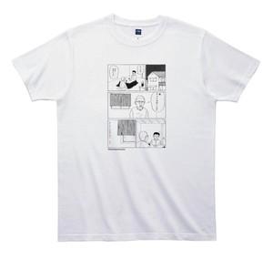 《和田ラヂヲTシャツ》TW006/ カーテンがみじかい