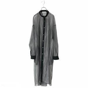 【オーダー受付】Lace-Longshirts (wrinkle grey)