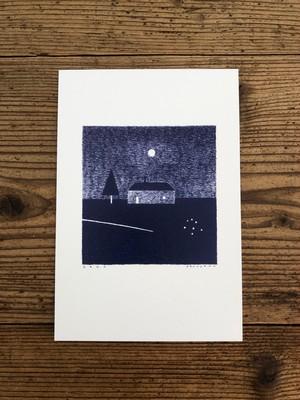 shunshun ポストカード「彗星の小径」