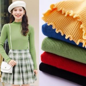 【トップス】スリムファッション合わせやすい無地清新セーター