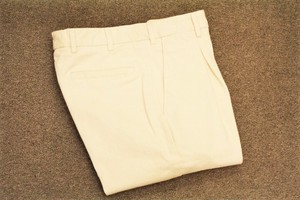 GERMANO Box Pleats Cotton Pants